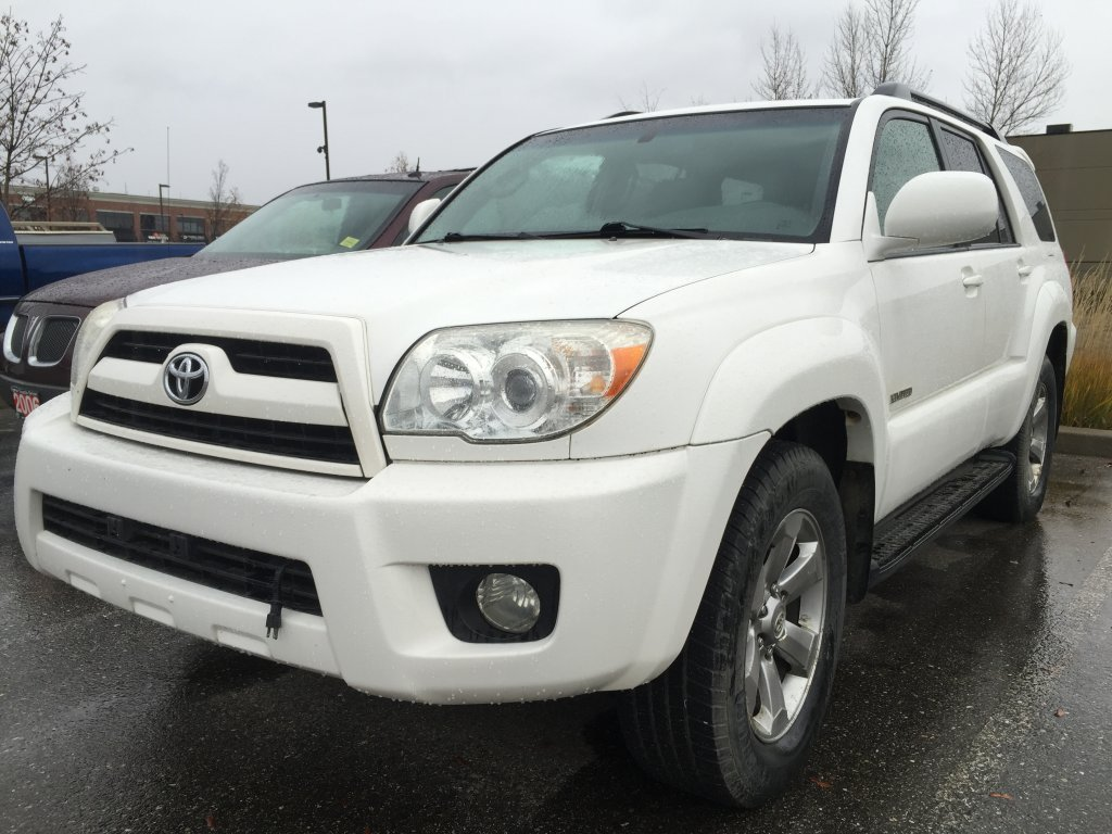 2007 toyota 4runner for sale in prince george bc used toyota sales. Black Bedroom Furniture Sets. Home Design Ideas