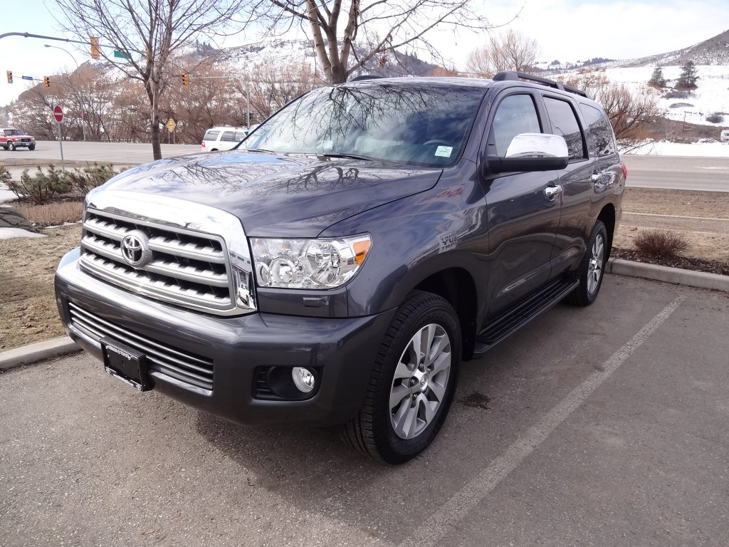2017 toyota sequoia for sale in prince george bc new toyota sales. Black Bedroom Furniture Sets. Home Design Ideas