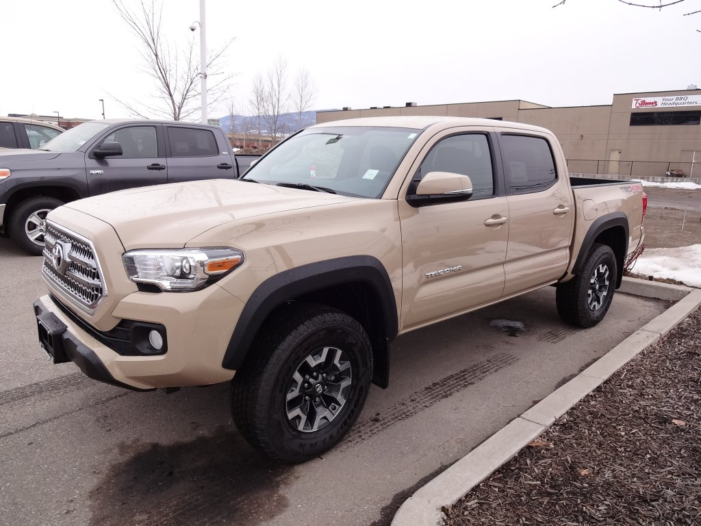 2017 toyota tacoma for sale in prince george bc new toyota sales. Black Bedroom Furniture Sets. Home Design Ideas