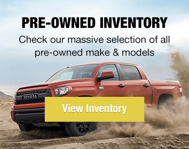 Pre-Owned Inventory - View Inventory